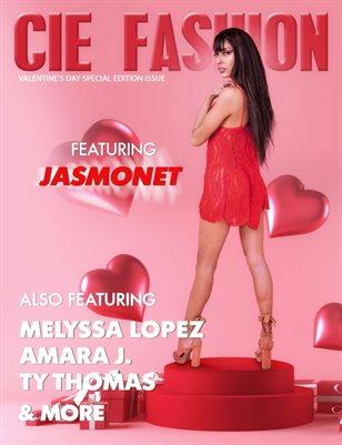CIE Fashion Magazine Valentine's Special Edition Featuring Jasmonet L.