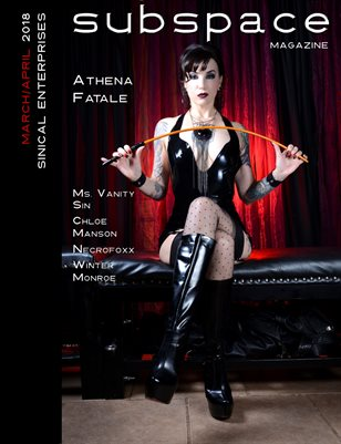 subspace March 2018 - Athena Fatale cover edition