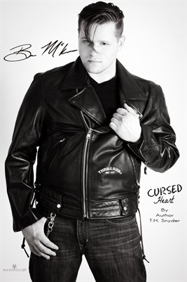 Ben Mckee As Christian in Cursed Heart by Author T.H.Snyder