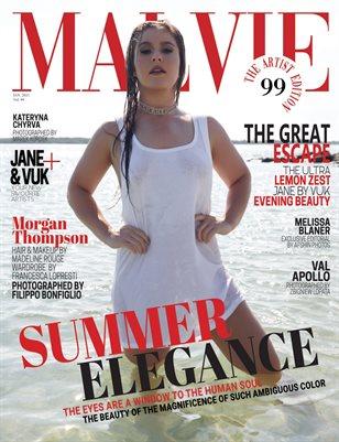 MALVIE Magazine The Artist Edition Vol 99 January 2021