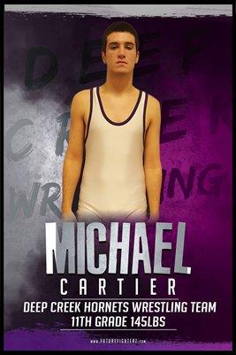 Michael Cartier DC #2 Poster