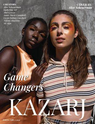 KAZARJ MAGAZINE ISSUE 2 VOL.3 2021