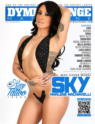 DYMEZLOUNGE MAGAZINE Volume 9 Aug/Sept 2014