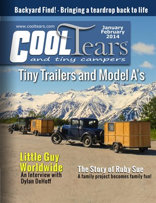 Cool Tears and Tiny Campers Magazine - January / February 2014