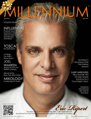 MILLENNIUM MAGAZINE | NOVEMBER | DECEMBER 2013 | A
