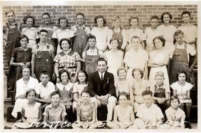 1935 Calvert City 7-8 Grades, Marshall County, Kentucky