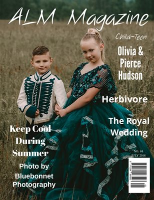"ALM Child-Teen Magazine, ""Fashion Model Elite,"" Issue 84, July 2018-Olivia & Pierce"