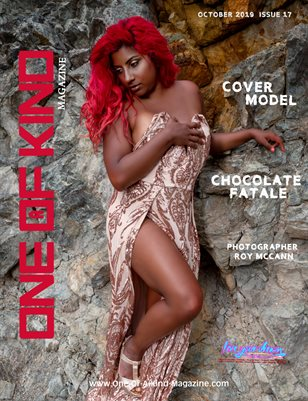 ONE OF A KIND MAGAZINE - Cover Model Chocolate Fatale - October 2019
