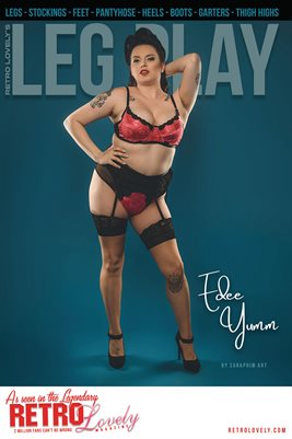 LEG PLAY No.1 – Edee Yumm Cover Poster
