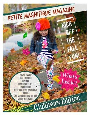 Petite Magnifique November Children's Edition #115 Book No 1