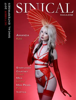 Sinical October 2017 - Amanda Kee Cover Edition