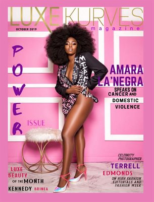 AMARA LA'NEGRA - OCTOBER PINK & PURPLE POWER ISSUE