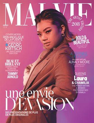 MALVIE Magazine The Artist Edition Vol 208 May 2021