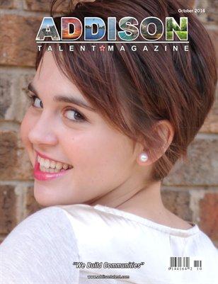 Addison Talent Magazine October 2016 Edition