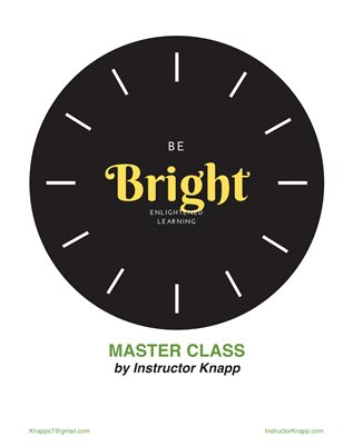 Bright Self-Regulation Manual
