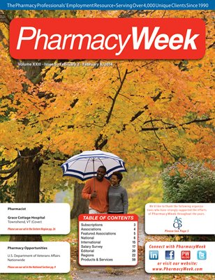 Pharmacy Week, Volume XXIII - Issue 5 - February 2 - February 8, 2014