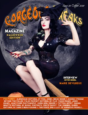 Issue 34 Halloween Edition Cover Model: Marie Devilreux