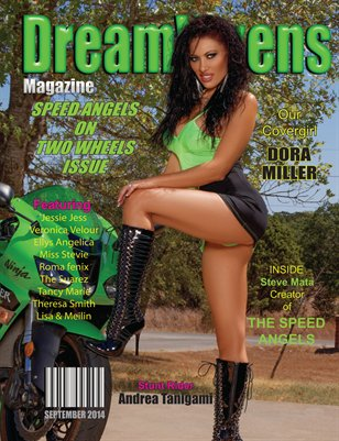 DreamVixens Speed Angels on Two Wheels Issue