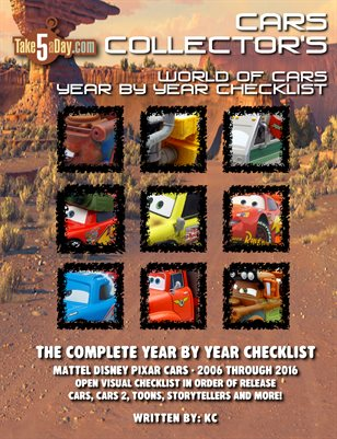 The Complete Everything CARS Year by Year Checklist 2006-2016