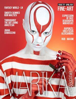 MARIKA MAGAZINE FINE-ART (ISSUE 777 - APRIL)