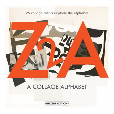 Z2A-A Collage Alphabet