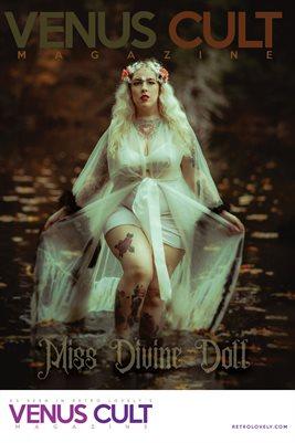 Venus Cult No.33 – Miss Divine Doll Cover Poster
