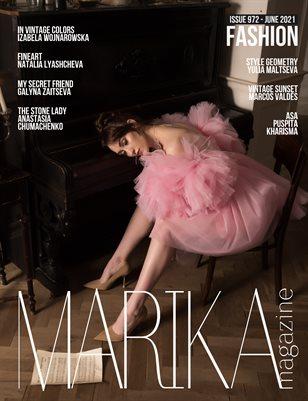 MARIKA MAGAZINE FASHION (ISSUE 972 - JUNE)