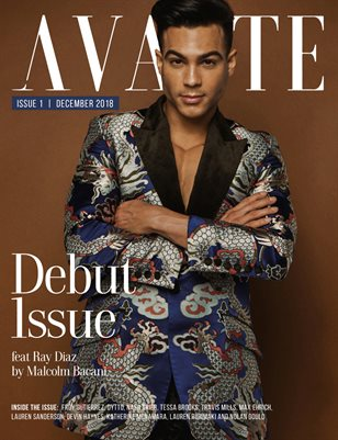 Avante Debut Issue: Ray Diaz Cover