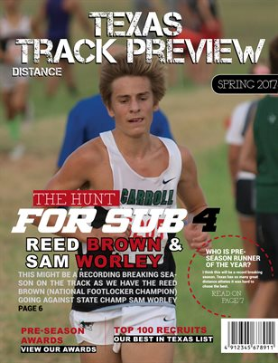 Txrunning 2017 Distance Track Preview Magazine
