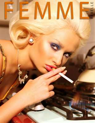 Femme Rebelle Magazine JUNE 2017 - BOOK 1 Romanie Smith Cover