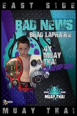 Brad LaPrarie East Side Themed Poster