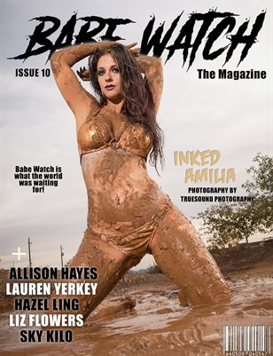 BABE WATCH ISSUE 10 Ft. INKED AMILIA