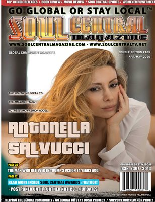 Soul Central Magazine – #Edition #106 #Antonella #Salvucci
