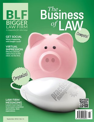 The Business of Law - September 2012