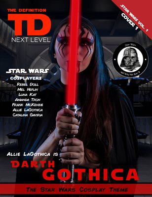 TDM Cosplay: Allie LaGothica Star Wars Vol.1  Cover1