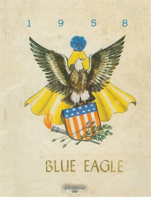 "1958 HARDIN ELEMENTARY SCHOOL ""BLUE EAGLE"" YEARBOOK"