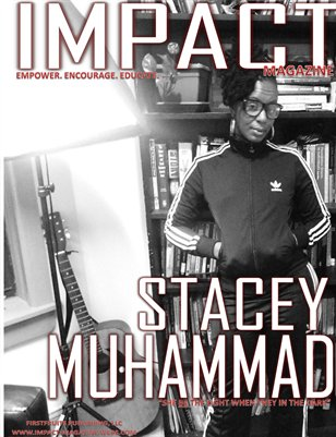 August Issue w/Stacey Muhammad