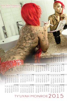 Ty'liyah Monroe Calendar 2015 II