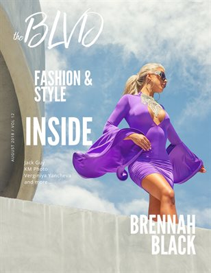 The Boulevard Magazine Vol. 12 ft. Brennah Black