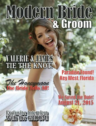 Keepsake Wedding Magazine Modern Sample