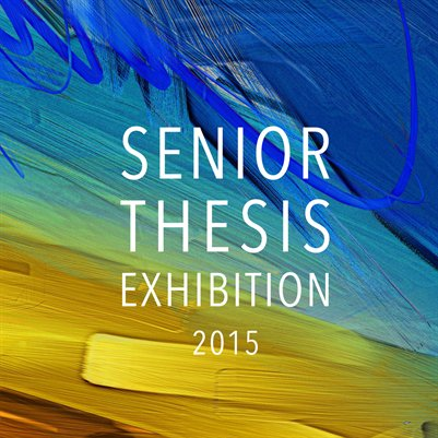 senior thesis help Although all three students are in ringling's fine arts program, they had to find a way to combine their interests into one senior thesis exhibit, something they say will help them in the future.