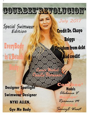 Courbee' Revolucion' Magazine July 2017 Freedom/Swimsuit Issue