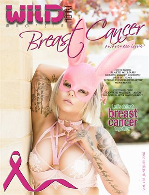 Wildheart Magazine's Pink issue in Support of Breast cancer