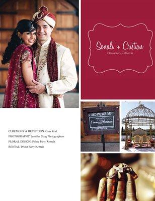 Sonali + Cristian Vendor Magazine