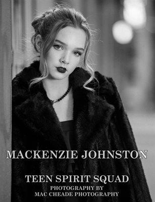 Mackenzie Johnston (Black & White)   Teen Spirit Squad