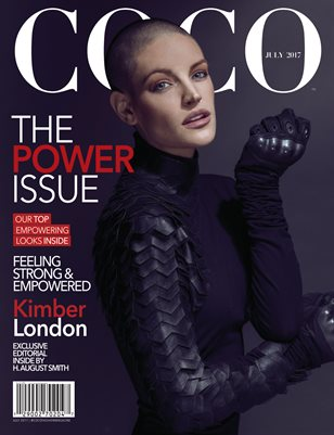 COCO Fashion Magazine Featuring Kimber London