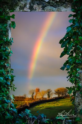 Irish Rainbow over County Clare (Poster)