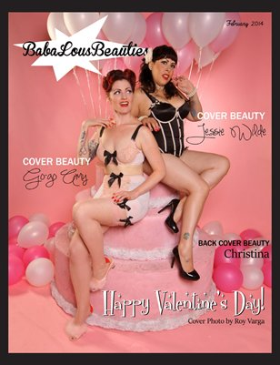Baba Lous Beauties- Issue 10 Happy Valentine's Day- Cover & Back Cover #1