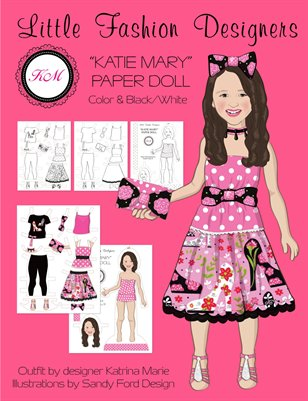 """Katie Mary"" Paper Doll"
