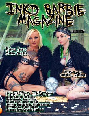 Inkd Barbie Magazine Issue #92 - Sativa Sandra & Krissy Ann